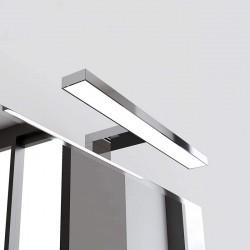 Lampada bagno a LED 20 cm per installazione su telaio o a bordo specchio