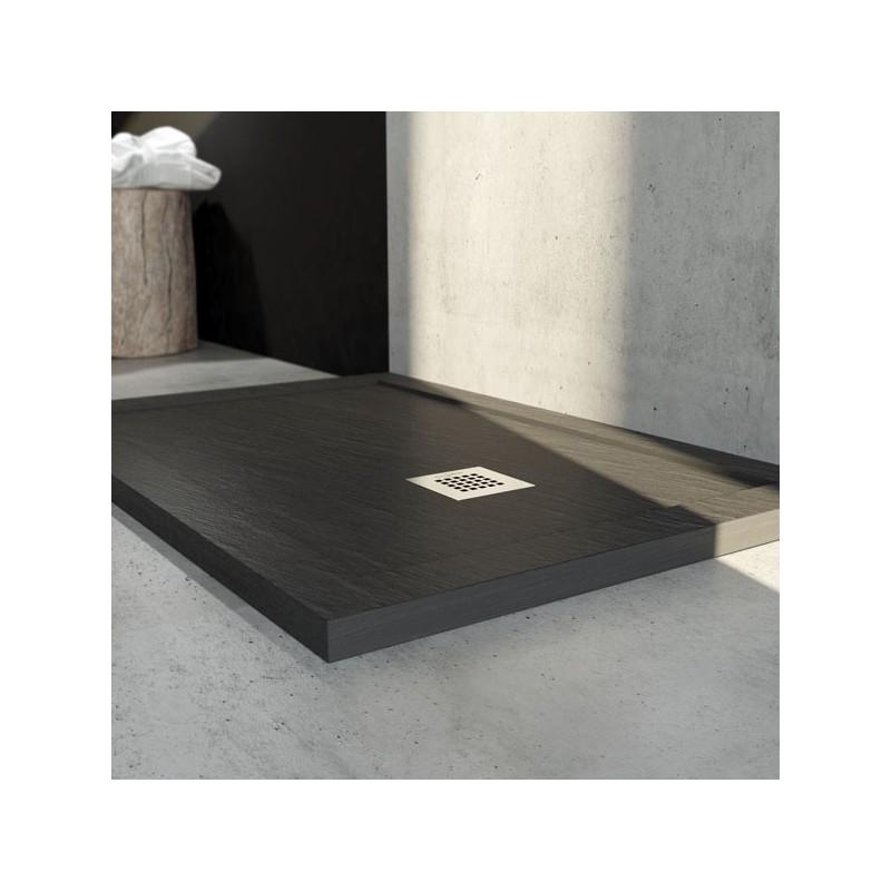 Piatti doccia marmo resina con bordo h 3 cm - Piatto doccia in resina o ceramica ...