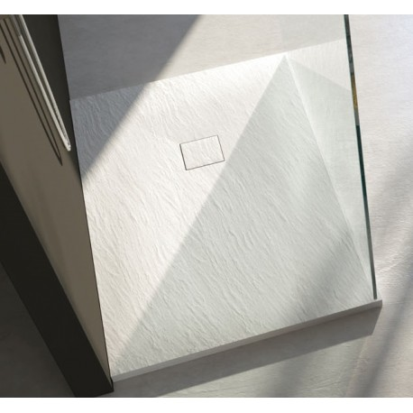 Piatto doccia marmo resina con piletta materica h 3 cm - Piletta piatto doccia ...