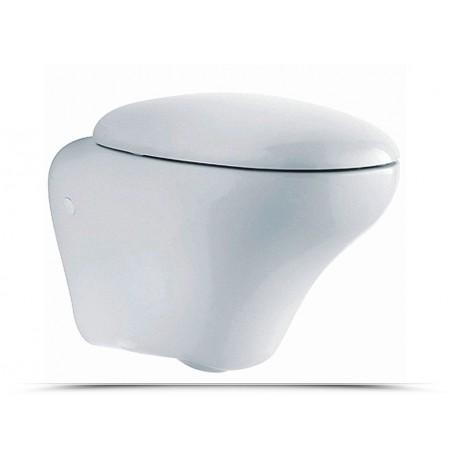 Pozzi ginori vaso sospeso egg con coprivaso incluso for Vaso sospeso