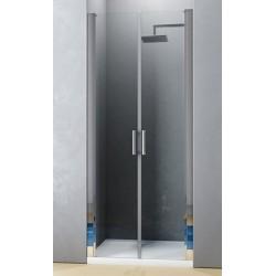 Box Doccia Last Minute (H19) Saloon Altezza 195 cm Cristallo 6 mm Trasparente Profilo Cromo