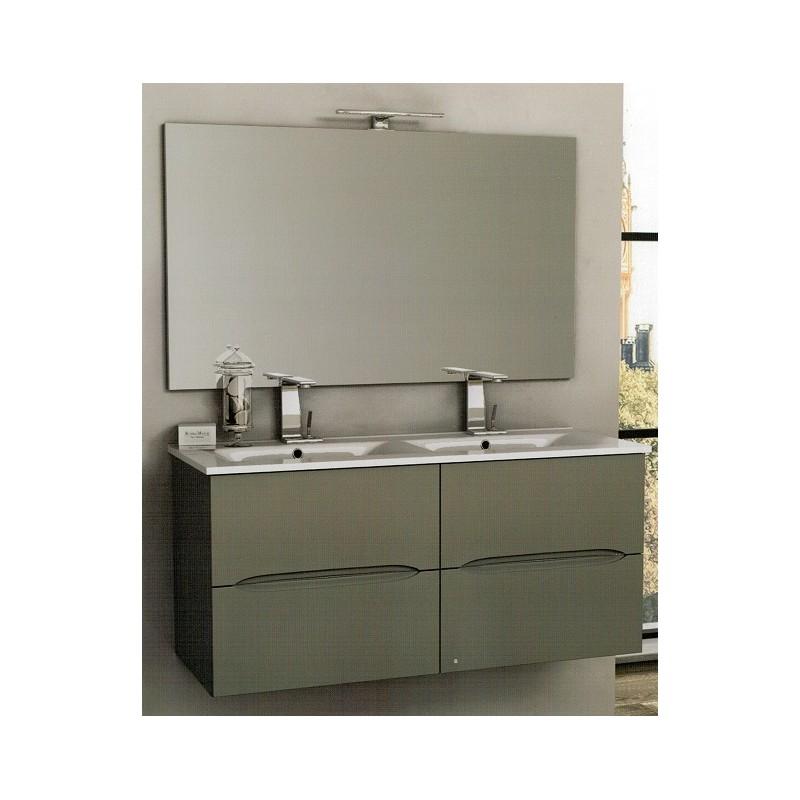 Baden haus mobile da bagno 100 cm sospeso - Lavabi doppi per bagno ...