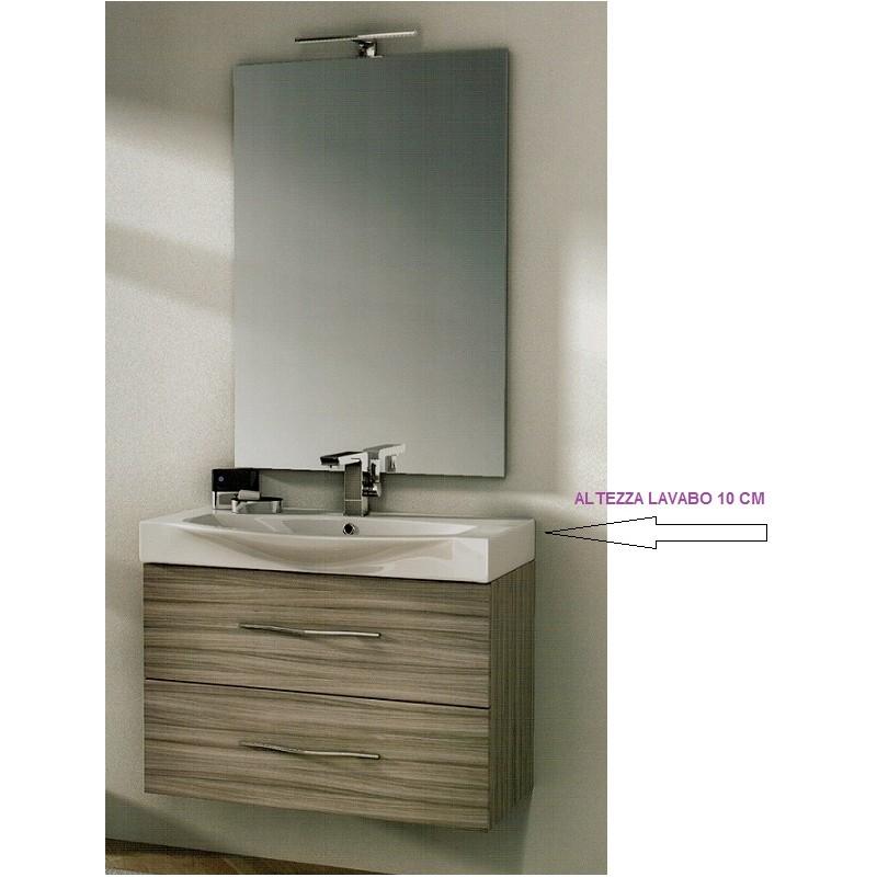 Mobile bagno sospeso altezza da terra beautiful bagno per disabili with mobile bagno sospeso - Mobile bagno asimmetrico ...