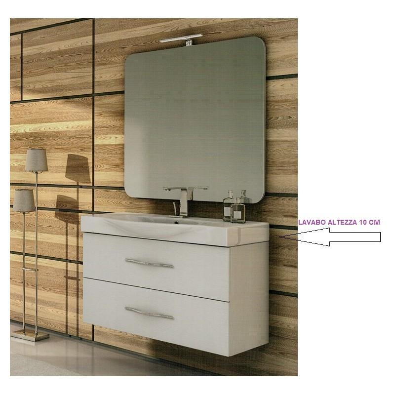 Baden haus mobile da bagno da 105 cm new york frassino - Mobile bagno sospeso 120 cm ...