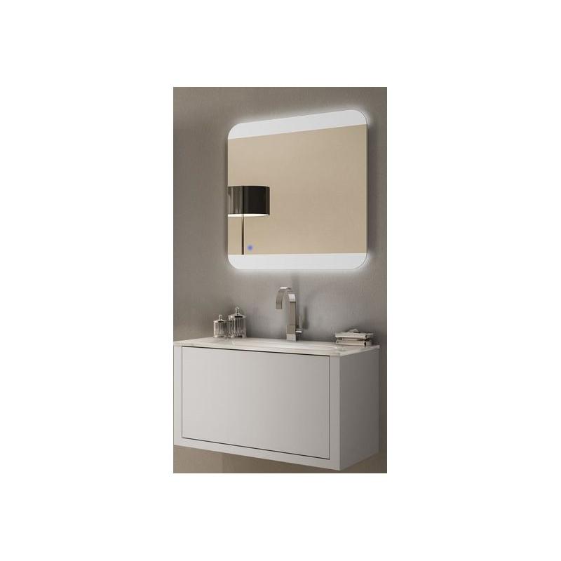 Baden haus mobile da bagno sospeso 100 cm roxanne bianco - Mobile da bagno sospeso ...
