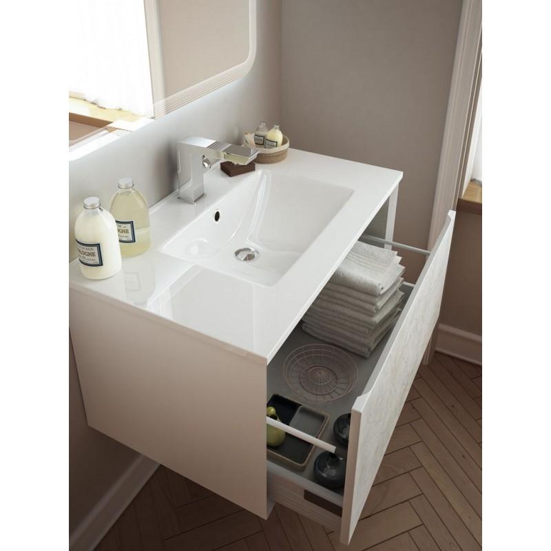 Baden haus mobile da bagno sospeso 75 cm venus stile vintage for Mobili da bagno
