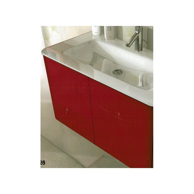 Mobile Da Cucina Rosso : Baden haus mobile da bagno sospeso cm liverpool rosso