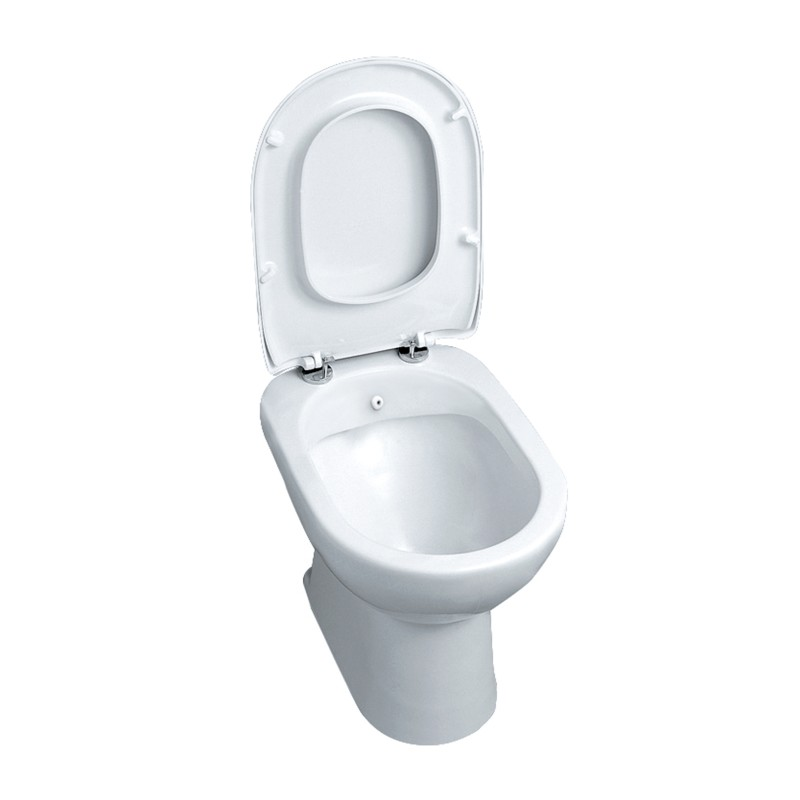 Sedile Copriwater Con Bidet Incorporato.Vaso Bidet Completo Di Sedile Diana Azzurra Vendita Online Italiaboxdoccia