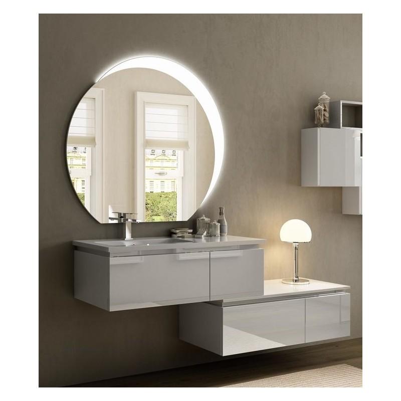 Baden haus mobile da bagno sospeso 100 cm avril bianco for Cassettiera bagno