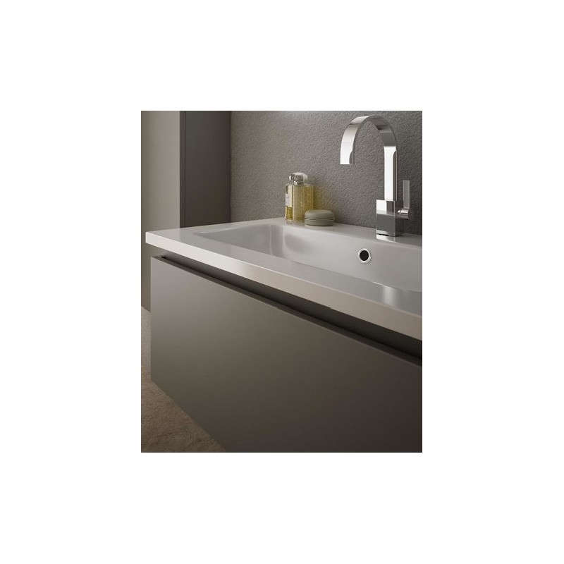 Baden Haus - Mobile da Bagno Sospeso 100 cm Avril Grigio