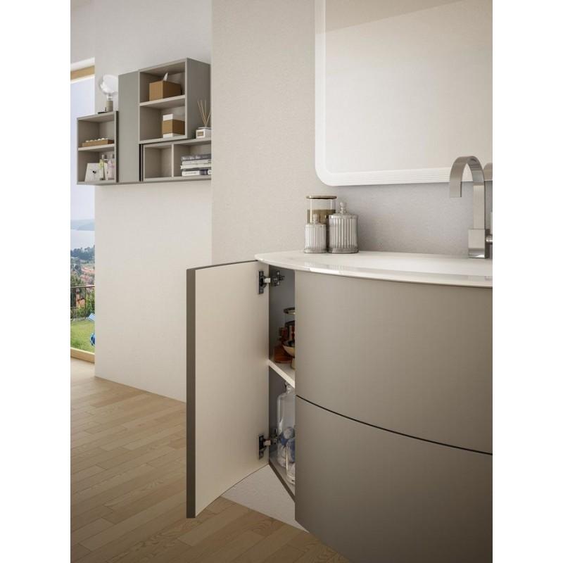 Baden haus mobile da bagno sospeso 90 cm eden grigio - Mobile sospeso bagno ...