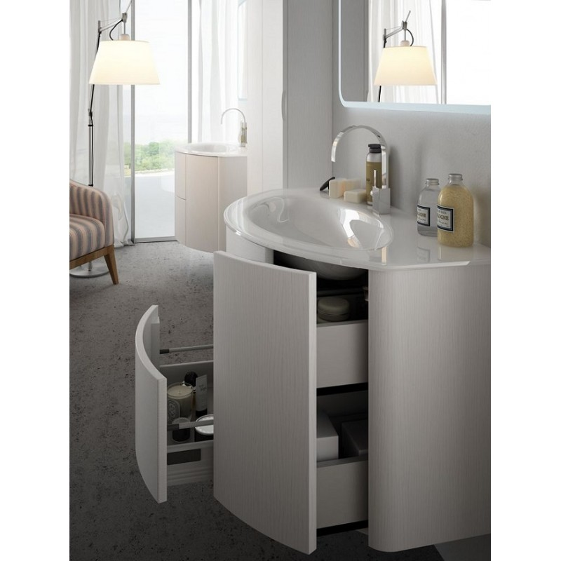 baden haus mobile da bagno sospeso 121 cm eden frassino