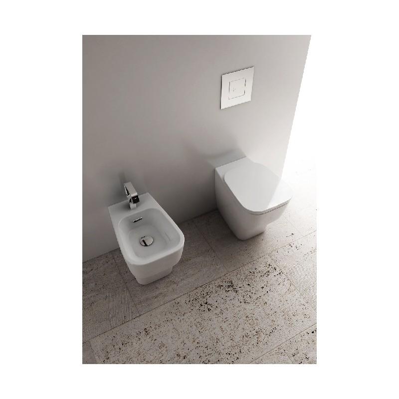 Domus falerii vaso e bidet f50 small filo parete - Sanitari small ...