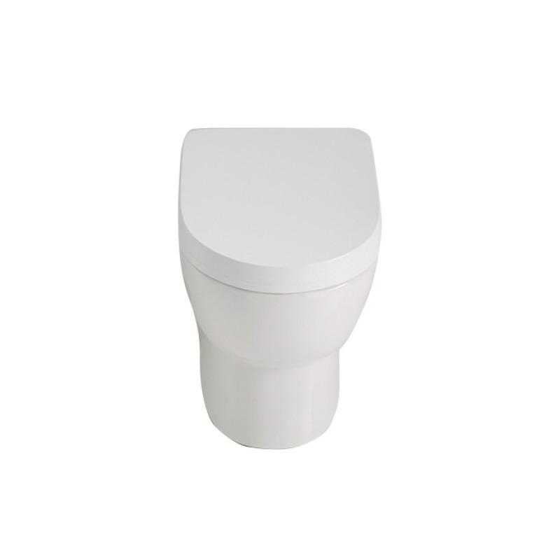 Falerii vaso foglia small filo parete - Sanitari small ...
