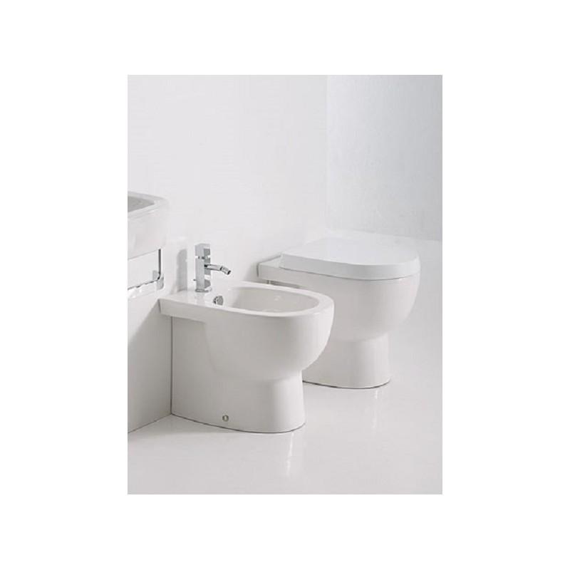 Falerii vaso e bidet foglia small filo parete - Sanitari small ...