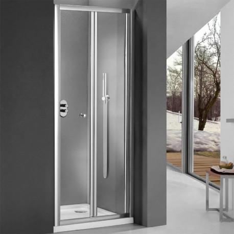 Nice line cabina doccia ad apertura a soffietto cristallo 6 mm - Cabine doccia a soffietto ...