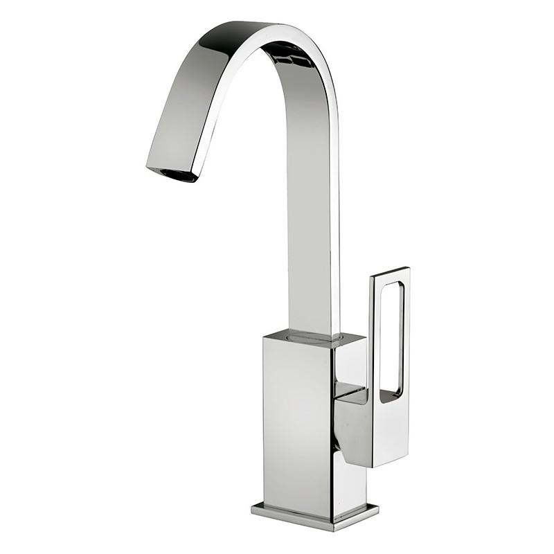 Paffoni effe miscelatori lavabo bidet a canna alta orientabile doccia - Miscelatori bagno canna alta ...