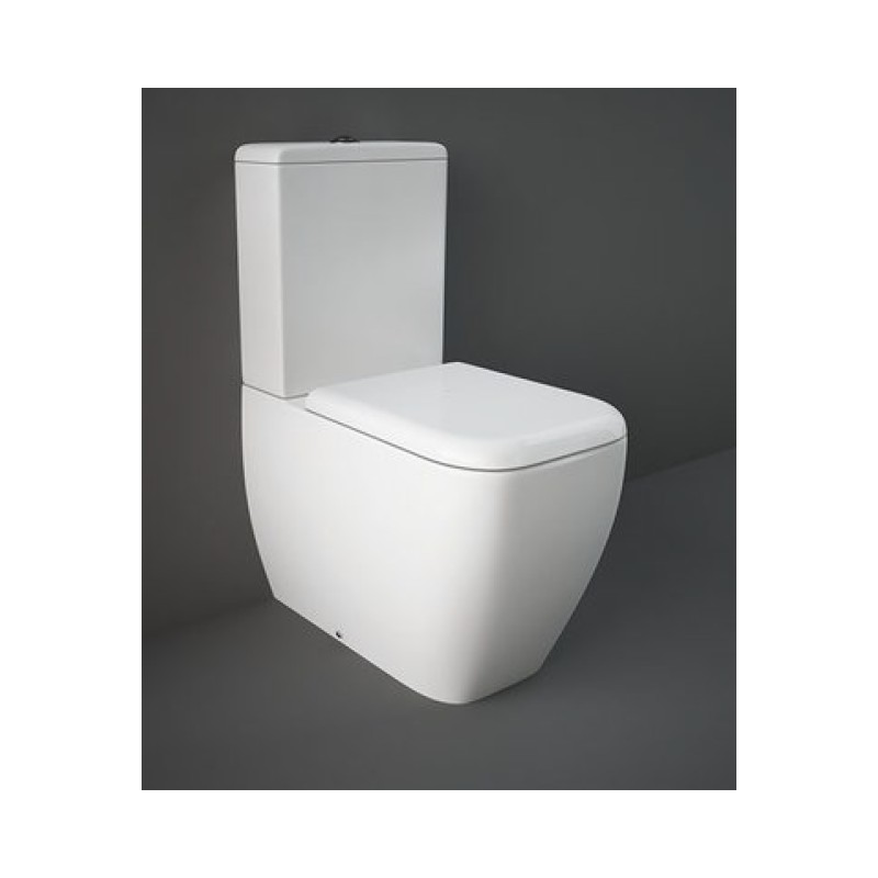Rak metropolitan vaso con cassetta monoblocco e bidet - Bagno con wc separato ...
