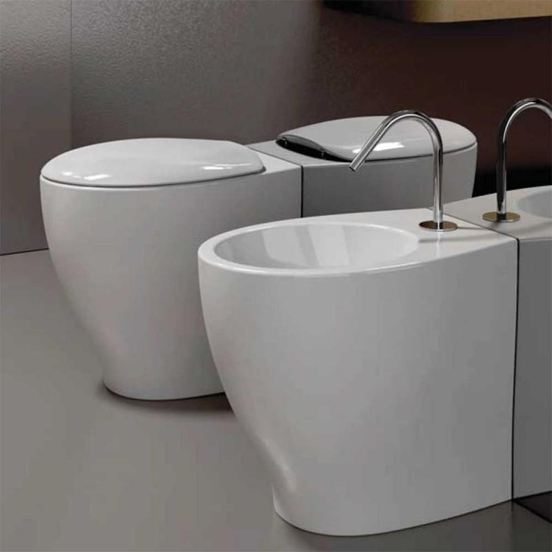 Bagni Ideal Standard : Domus falerii vaso e bidet mascalzone filo parete