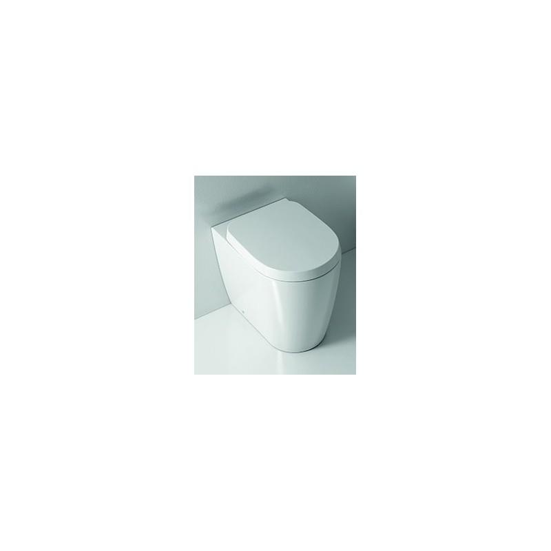 Domus Falerii - Sedile Wc con Chiusura Soft Close Foglia Medium
