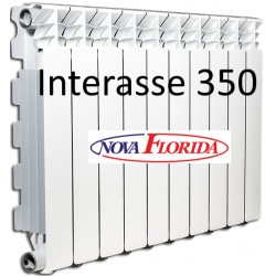 Radiatori in Alluminio Interasse 350 Desideryo B3 Nova Florida (Gruppo Fondital)