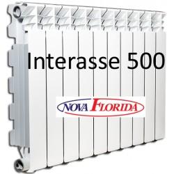 Radiatori in Alluminio Interasse 500 Desideryo B3 Nova Florida (Gruppo Fondital)