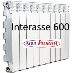 Radiatori in Alluminio Interasse 600 Desideryo B3 Nova Florida (Gruppo Fondital)