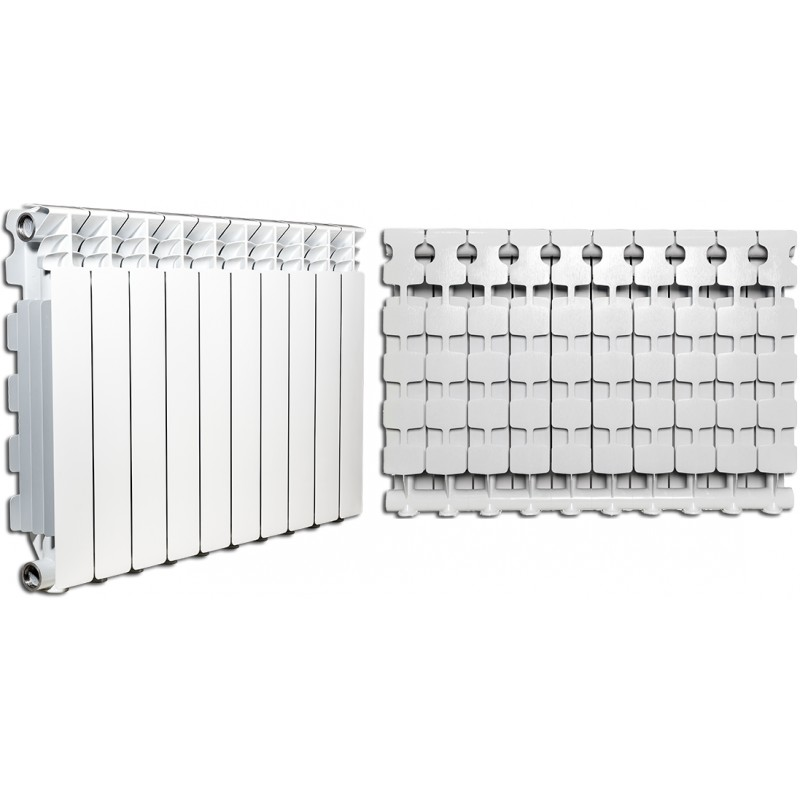 Nova florida radiatori desideryo b3 gruppo fondital da 70 cm for Radiatori in alluminio