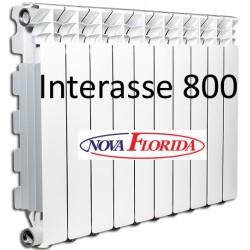 Radiatori in Alluminio Interasse 800 Desideryo B3 Nova Florida (Gruppo Fondital)