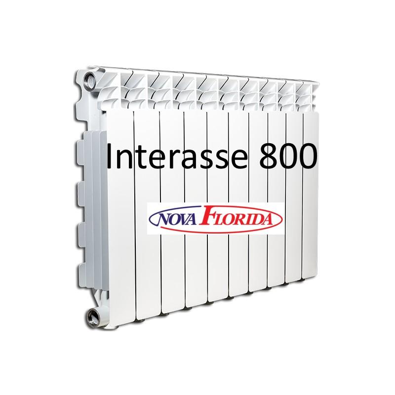 Nova florida radiatori desideryo b3 gruppo fondital da 80 cm for Radiatori in alluminio