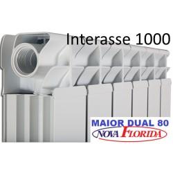Radiatori in Alluminio Interasse 1000 Maior Nova Florida (Gruppo Fondital)