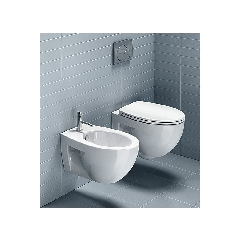 Catalano - Sanitari Sospesi New Light 52 Vaso 1VSLI00 Bidet 1BSLI00