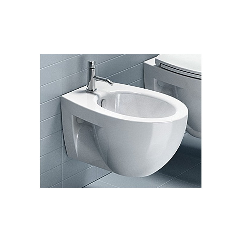 Catalano sanitari sospesi new light 52 vaso 1vsli00 bidet 1bsli00 - Accessori bagno sospesi ...