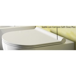 Coprivaso Serie Sfera Catalano con Chiusura Soft Close Plus Originale cod. 5SCSTP000