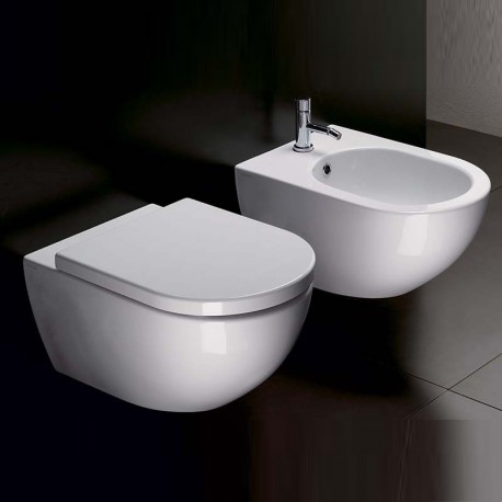 catalano sanitari sospesi sfera 50 vaso 1vss5000 bidet 1bss5000. Black Bedroom Furniture Sets. Home Design Ideas