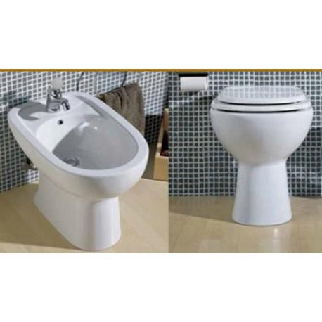 Vaso e bidet diana azzurra vendita online italiaboxdoccia for Vendita sanitari on line