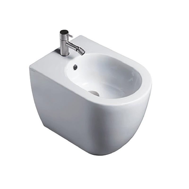 Catalano sanitari sfera 52 vaso 1vpc5200 bidet 1bic5200 for Sanitari filomuro