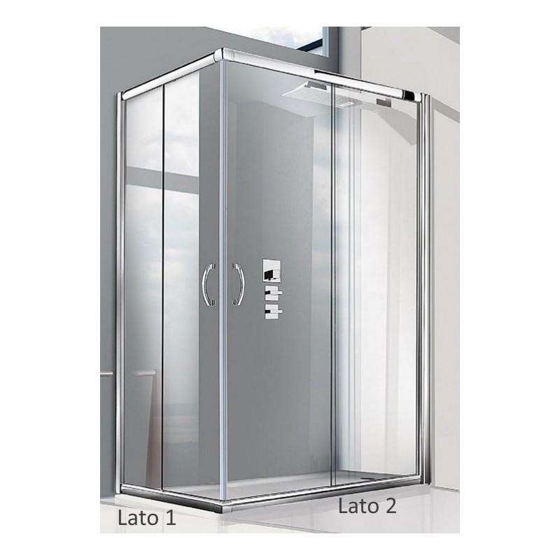 Doccia angolare x cabina doccia idromassaggio prezzi ed for Box doccia obi