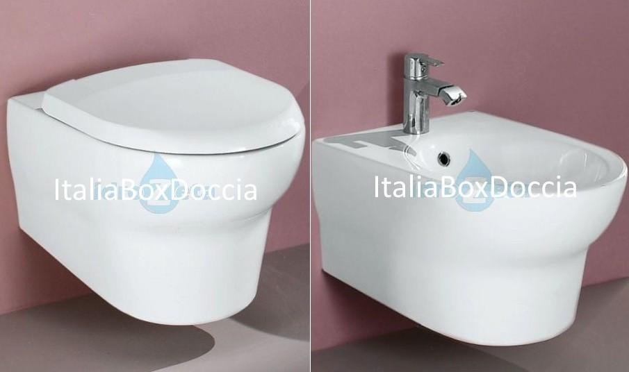 Vasca Da Bagno Infinity Prezzo : Rak ceramics sanitari infinity sospesi