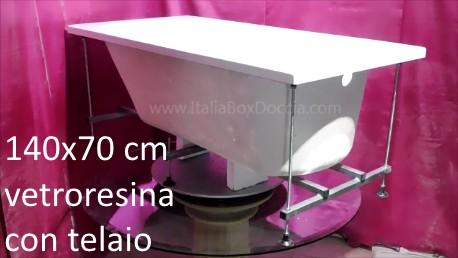 Vasca Da Bagno Dimensioni 140x70 : Vasche da bagno semplici