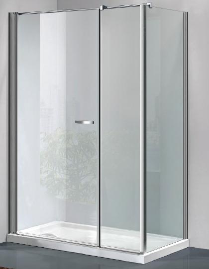 Box doccia a porta battente con parete fissa vendita - Box doccia porta battente ...