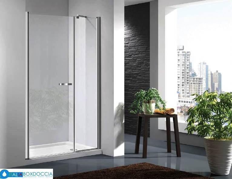 Box doccia a porta battente vendita online italiaboxdoccia - Montaggio porta battente ...