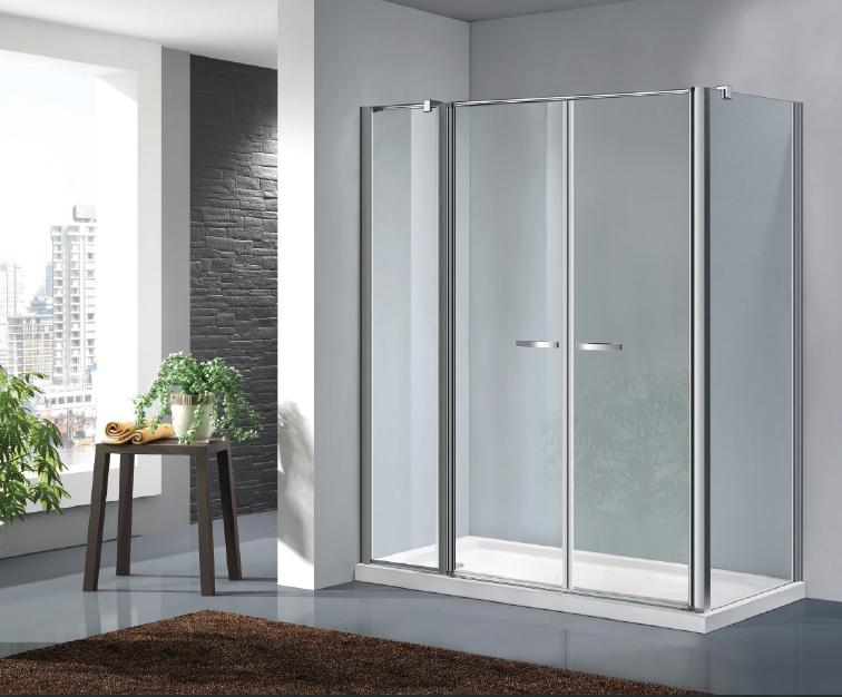 Cabina doccia multifunzione chiusura soft close doppia porta