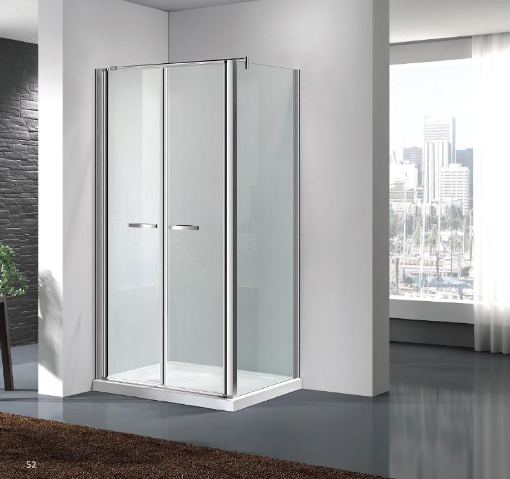 Box doccia con porta saloon cristallo trasparente - Porta accappatoio da doccia ...