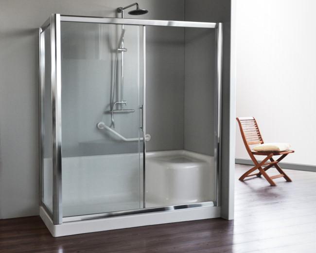 Box doccia per sostituzione vasca vendita online italiaboxdoccia - Cabina doccia muratura ...