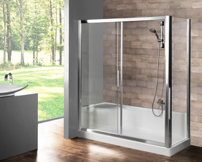 Box doccia per sostituzione vasca vendita online - Doccia con seduta ...