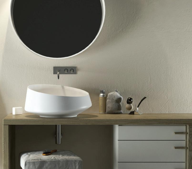 Relax Design - Lavabo da Appoggio in Solid Surface Modello Marechiaro