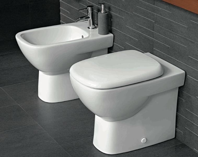 Pozzi ginori vaso e bidet serie fantasia 2 filo muro - Richard ginori sanitari bagno ...