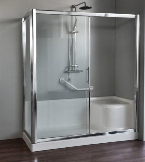 Trasformare vasca in box doccia vendita online italiaboxdoccia - Rinnovare vasca da bagno ...