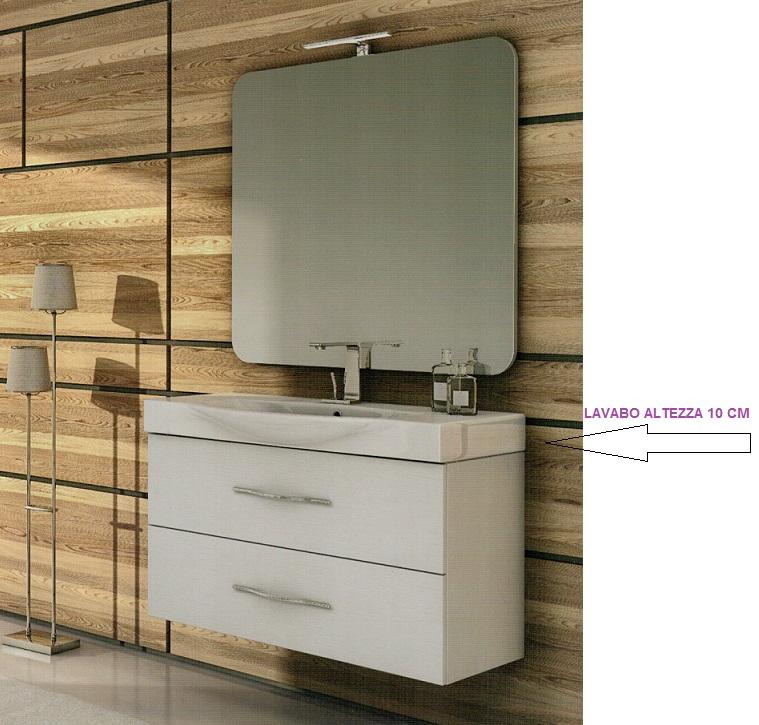 Beautiful altezza specchio bagno ideas - Altezza mobile bagno ...